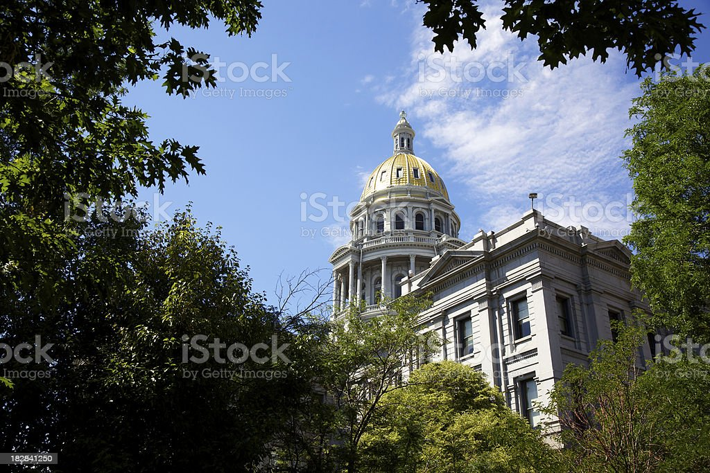 Colorado Capitol Building stock photo