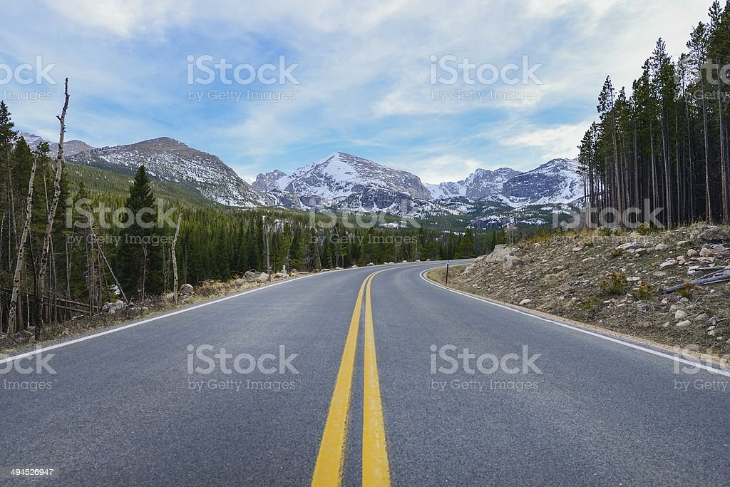 Colorado Destination stock photo