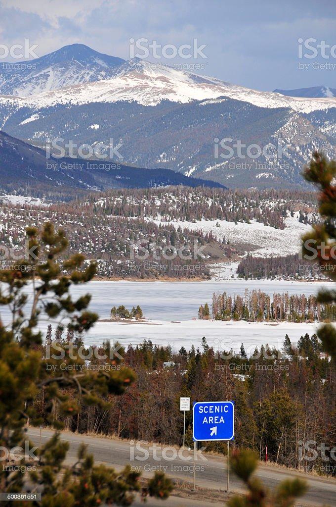 USA, Colorado - Dillon Reservoir stock photo