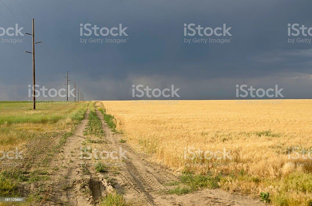 Colorado Farm royalty-free stock photo