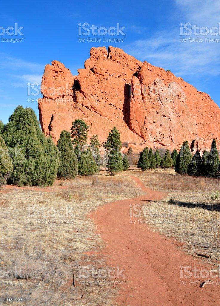 USA, Colorado: Garden of the Gods stock photo