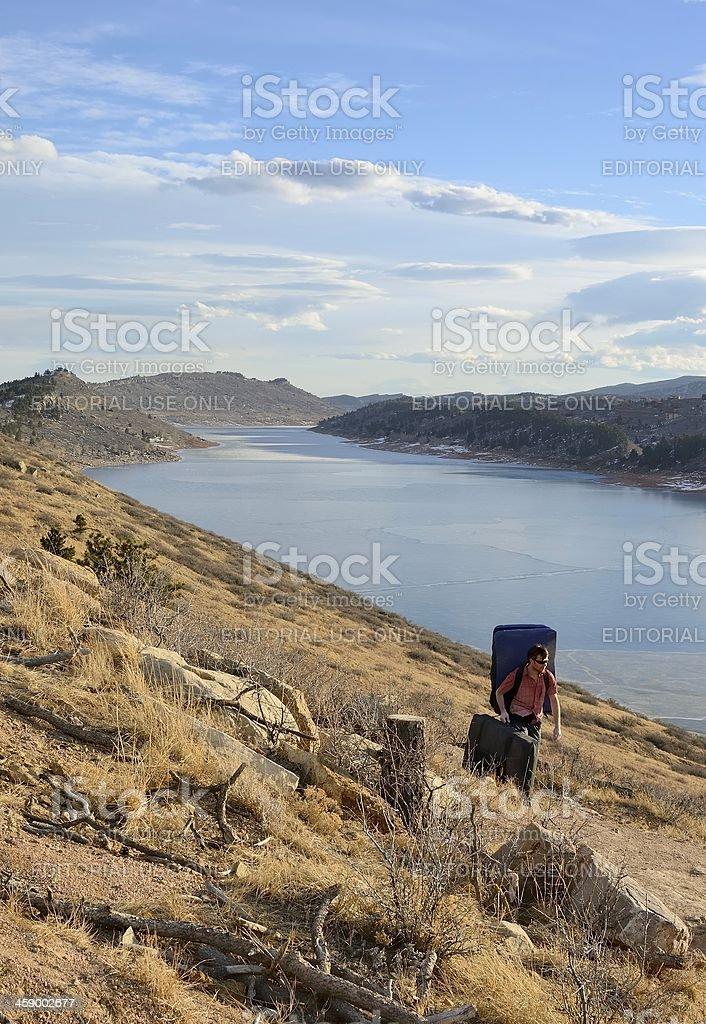 Colorado Hiking royalty-free stock photo