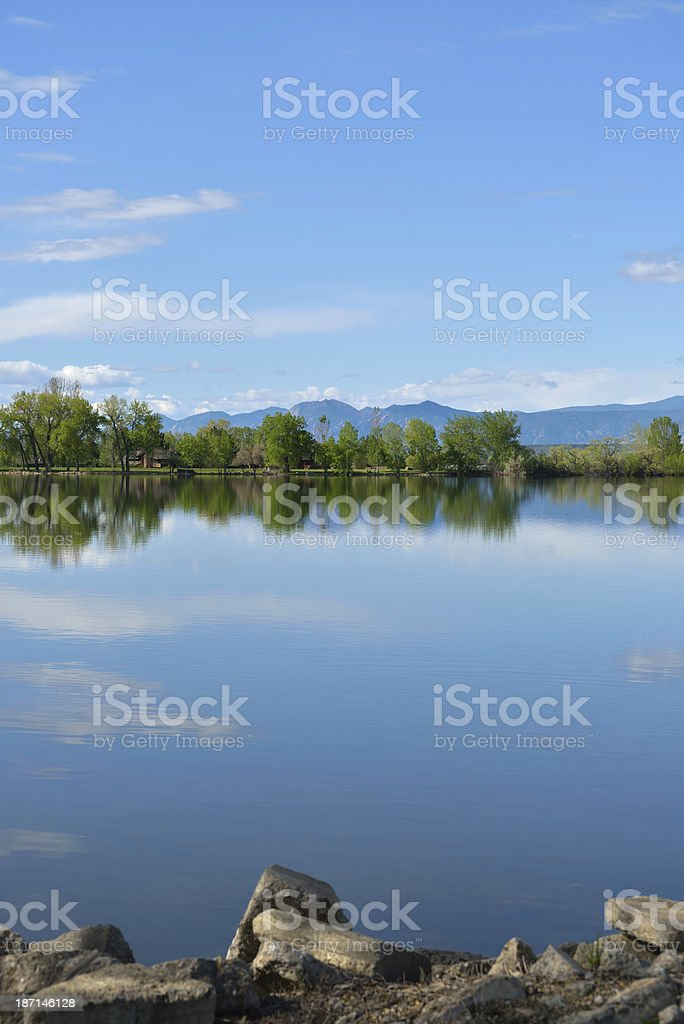 Colorado Lake royalty-free stock photo
