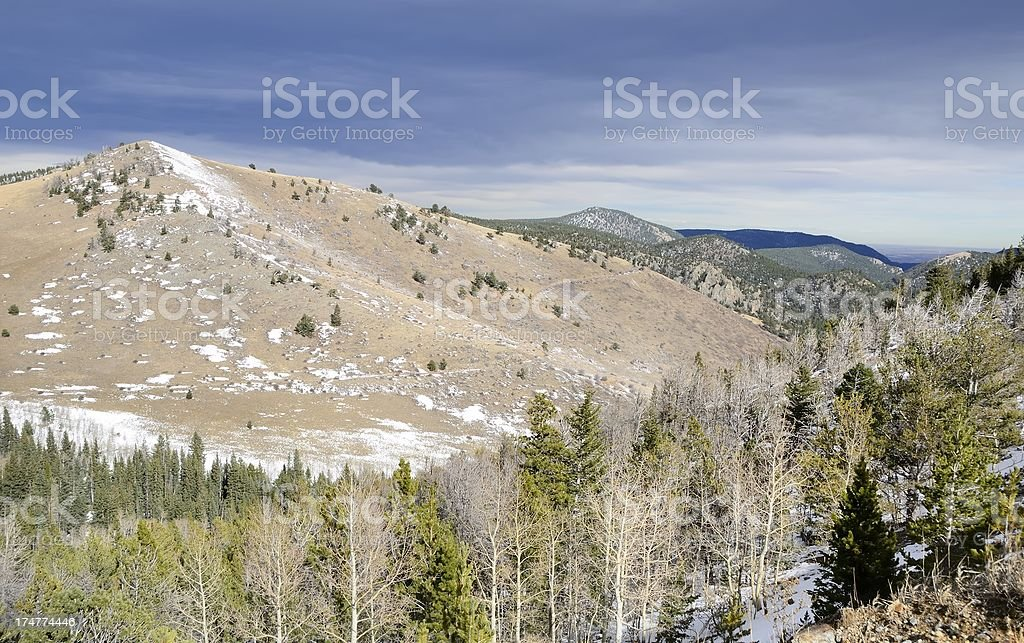 Colorado Landscape royalty-free stock photo