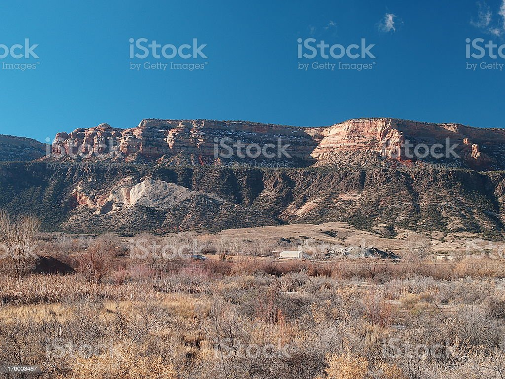 Colorado mesa #2 royalty-free stock photo