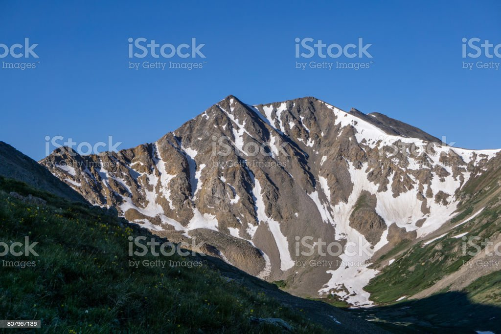 Colorado Mountain stock photo