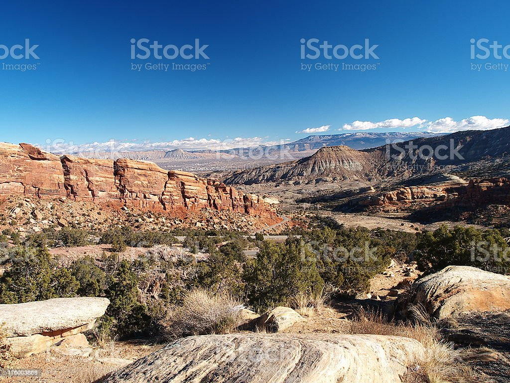 Colorado National Monument #1 royalty-free stock photo