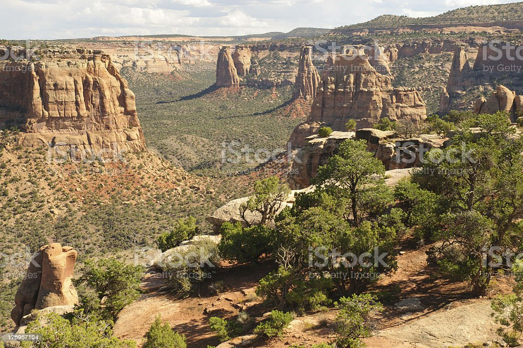 Colorado National Monument royalty-free stock photo