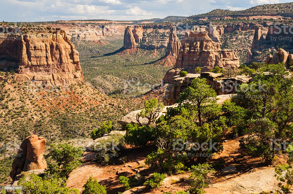 Colorado National Monument stock photo