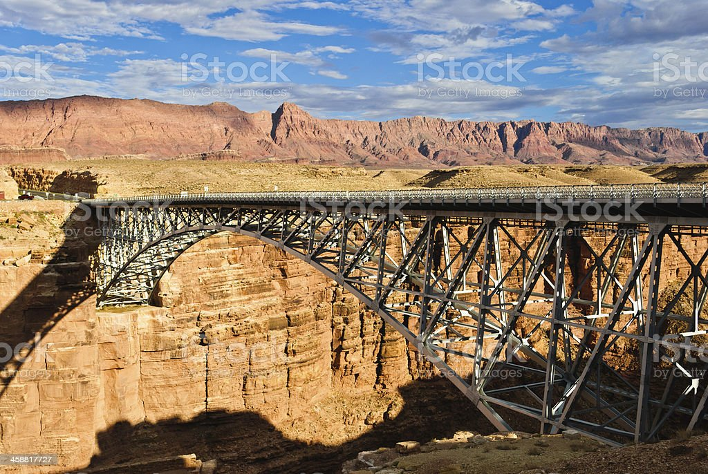Colorado River Crossing at Lees Ferry stock photo