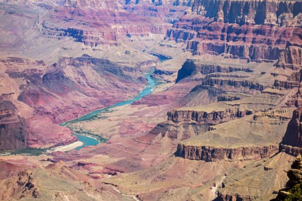 Colorado River Grand Canyon Arizona United States stock photo