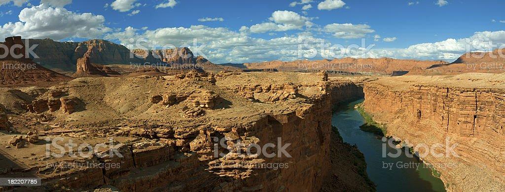 Colorado River, Marble Canyon royalty-free stock photo