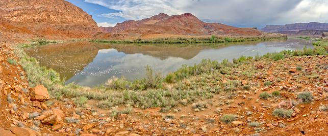 Colorado River near Lee's Ferry AZ in Marble Canyon, Arizona, United States