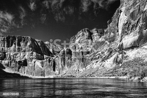 Colorado river in Glen Canyon Arizona