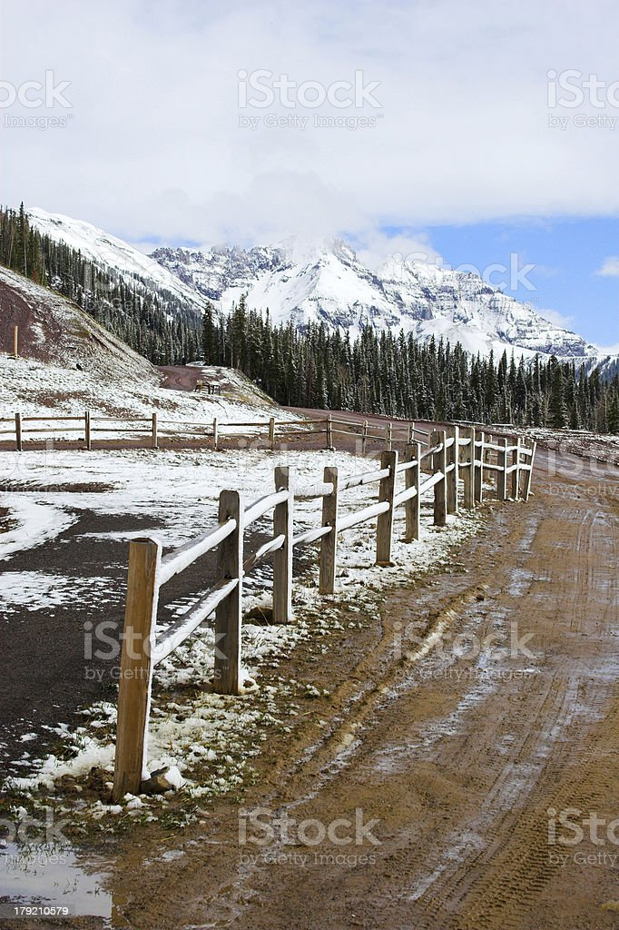 Colorado Road royalty-free stock photo