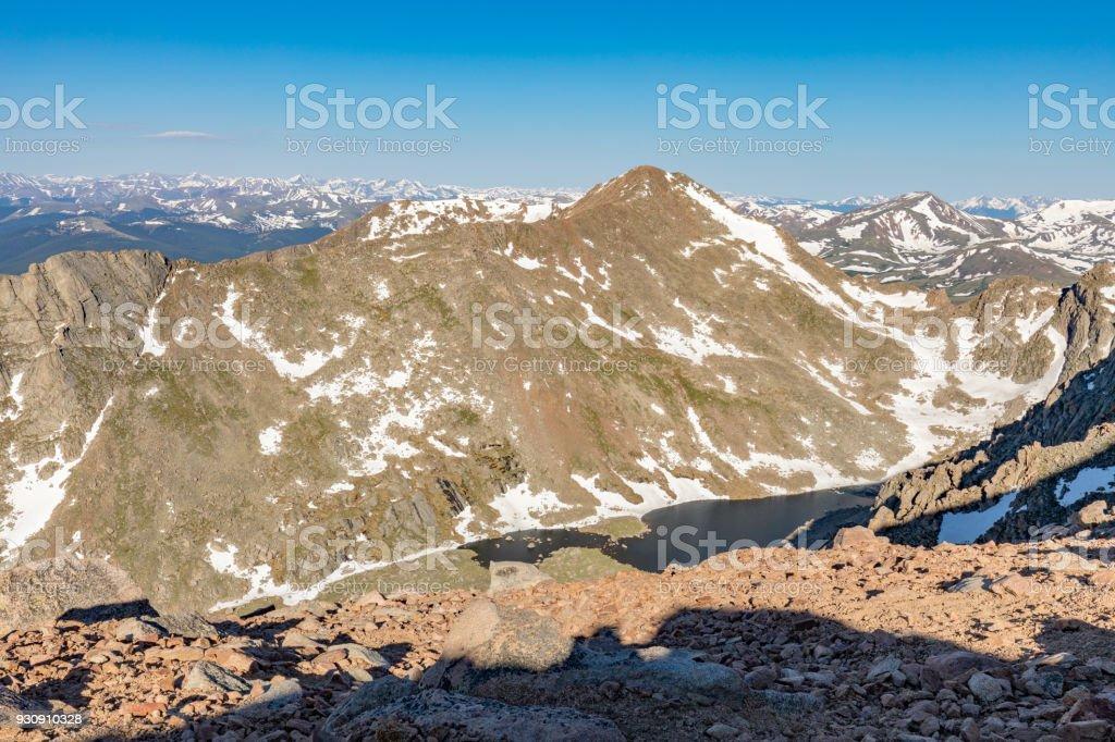 Colorado Rocky Mountain Landscape stock photo