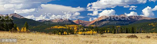 Photo of Colorado Rocky Mountains in Fall
