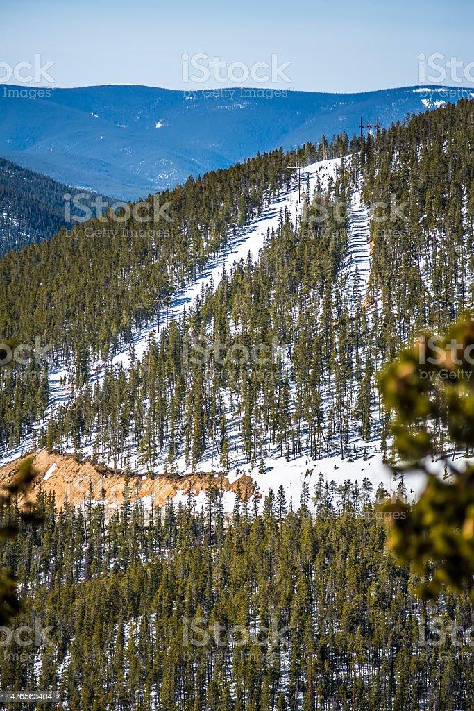 colorado rocky mountains near monarch pass stock photo