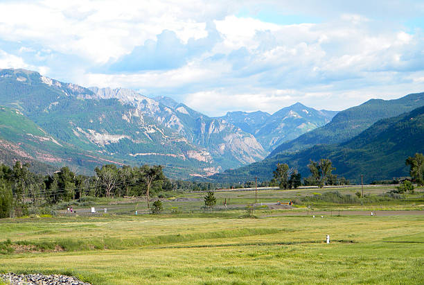 colorado rocky mountains - great plains stock photos and pictures