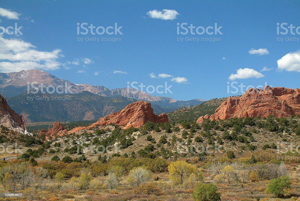 Colorado Scenic stock photo