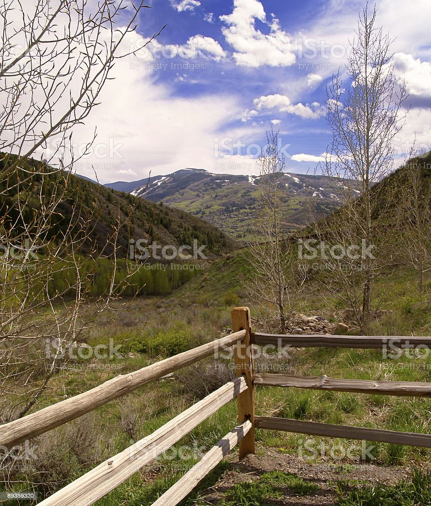Colorado panoramica foto stock royalty-free