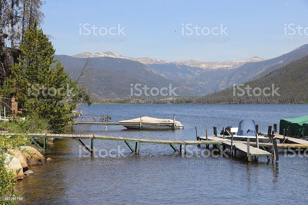 Colorado - Shadow Mountain Lake stock photo