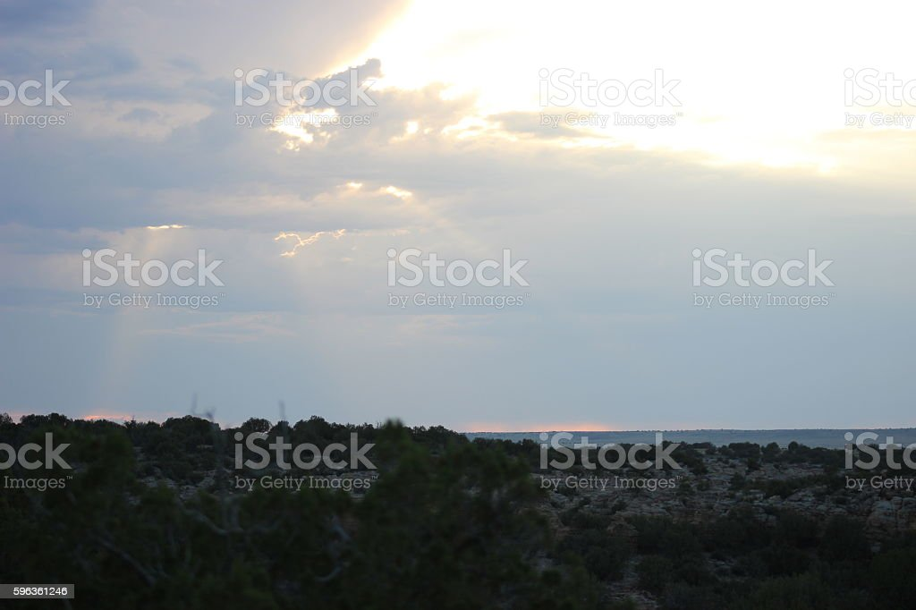 Colorado Skyscape royalty-free stock photo