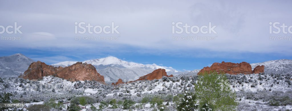 Colorado Springs Garden Of The Gods And Pikes Peak Landscape