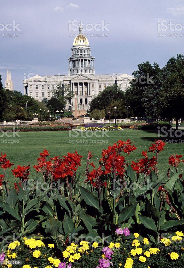 Colorado State Capitol Building, Denver royalty-free stock photo