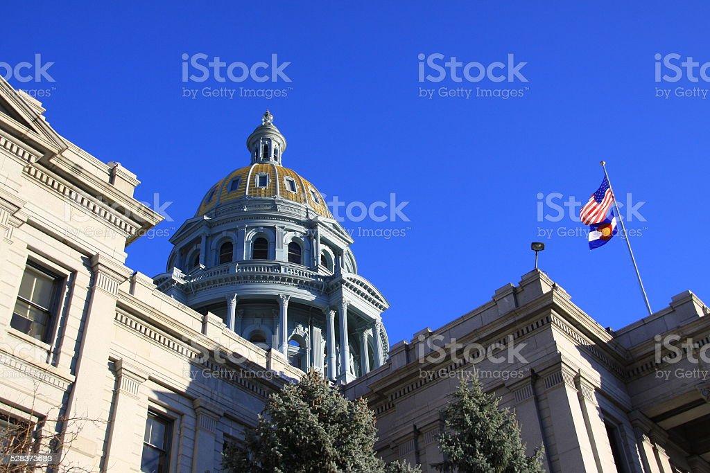 Colorado State Capitol Building in Denver stock photo