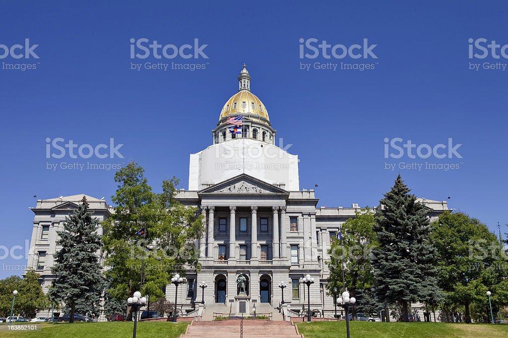 Colorado State Capitol Building stock photo