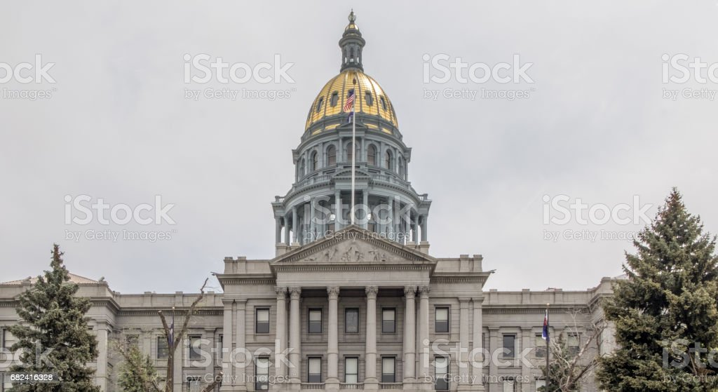 Colorado State Capitol Building royalty-free stock photo