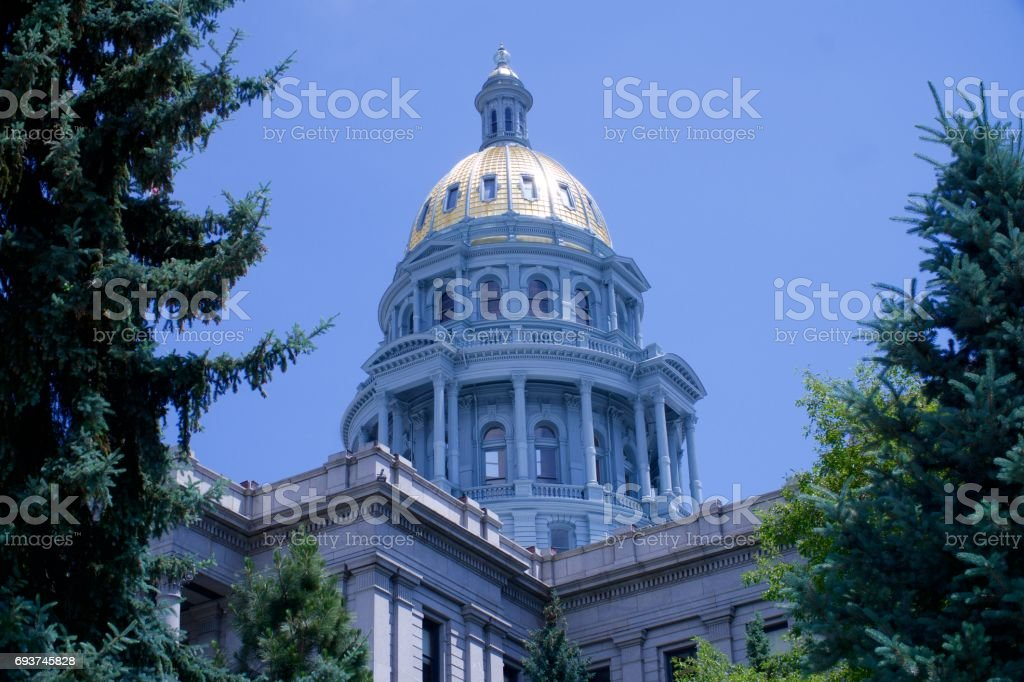 Colorado State Capitol Building stock photo