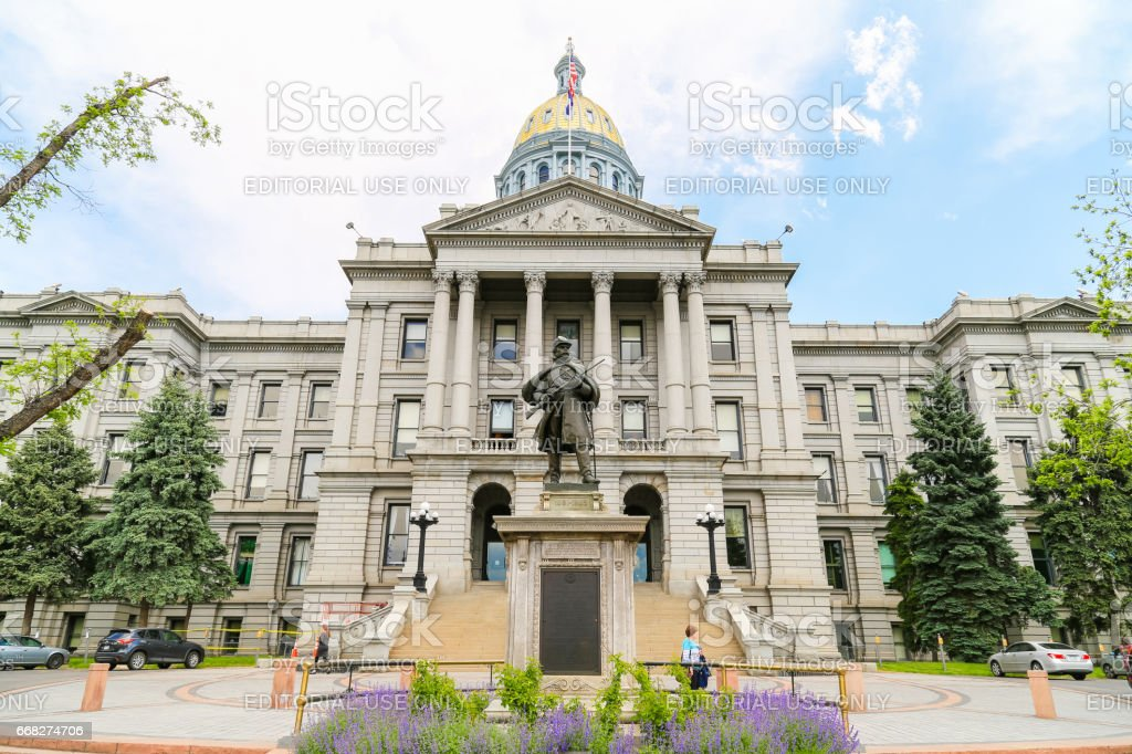 Colorado State Capitol foto stock royalty-free