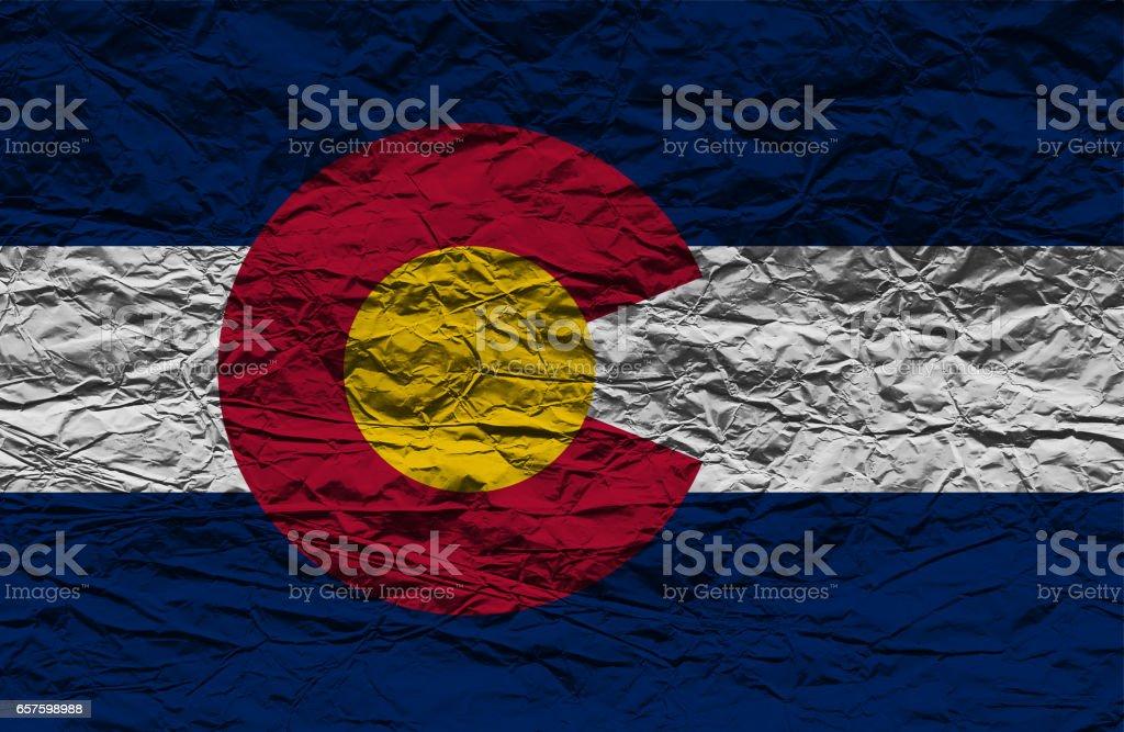 Colorado State flag stock photo