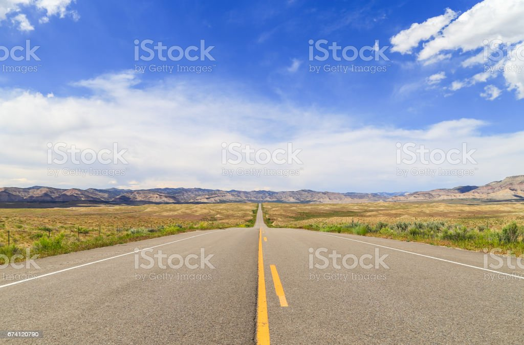 Colorado State Highway 139 免版稅 stock photo