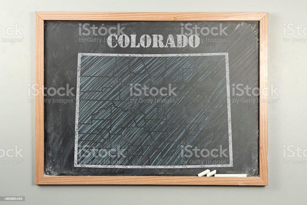 Colorado State stock photo