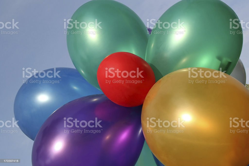 Colored balloons # 2 royalty-free stock photo