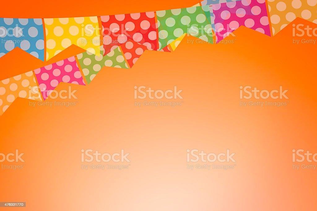 Coloridos panos para brasileiros Festival de junho de - foto de acervo