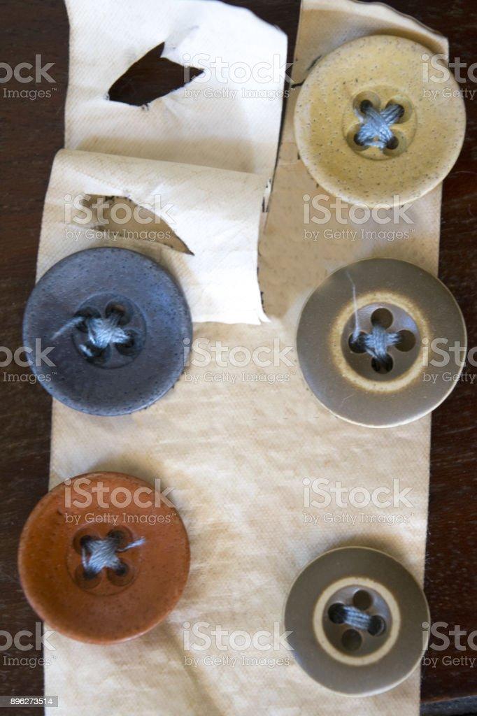 Botões coloridos - foto de acervo