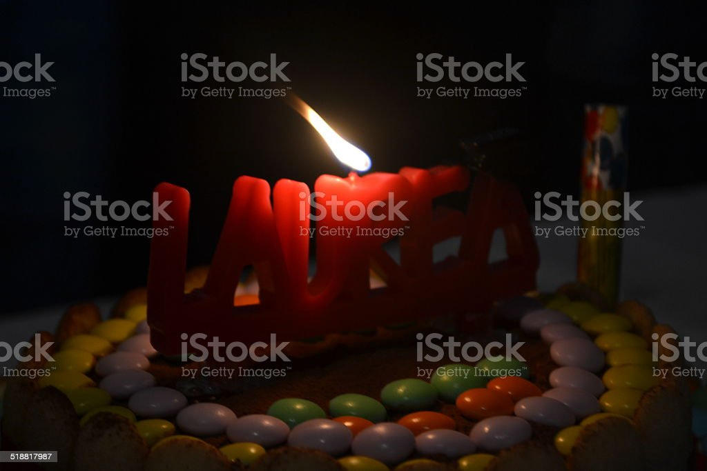 colored Cake stock photo