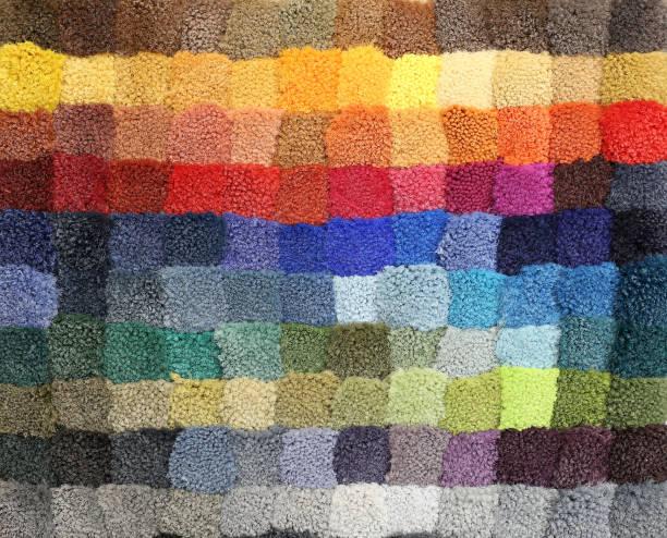 farbigen teppich textur. - teppich baumwolle stock-fotos und bilder