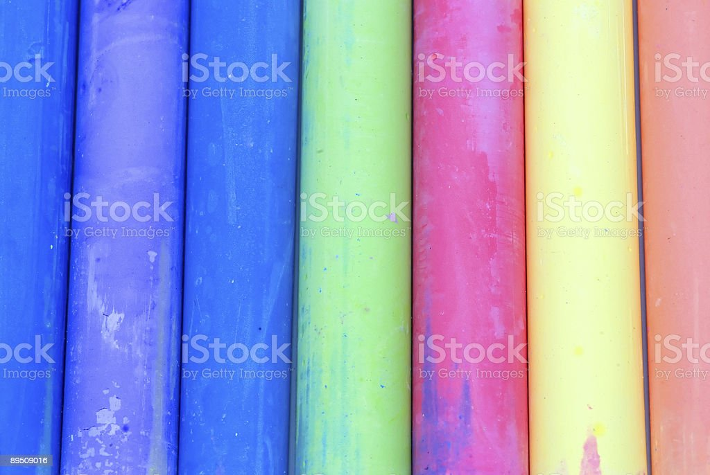 colored chalk background royalty-free stock photo