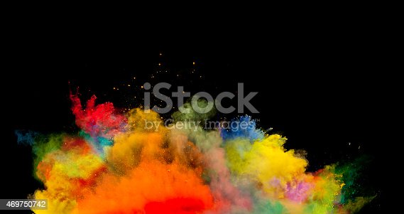 istock colored dust explosion on black background 469750742