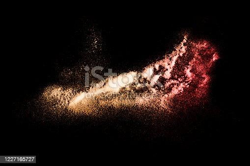 469759282 istock photo Colored dust 1227165727