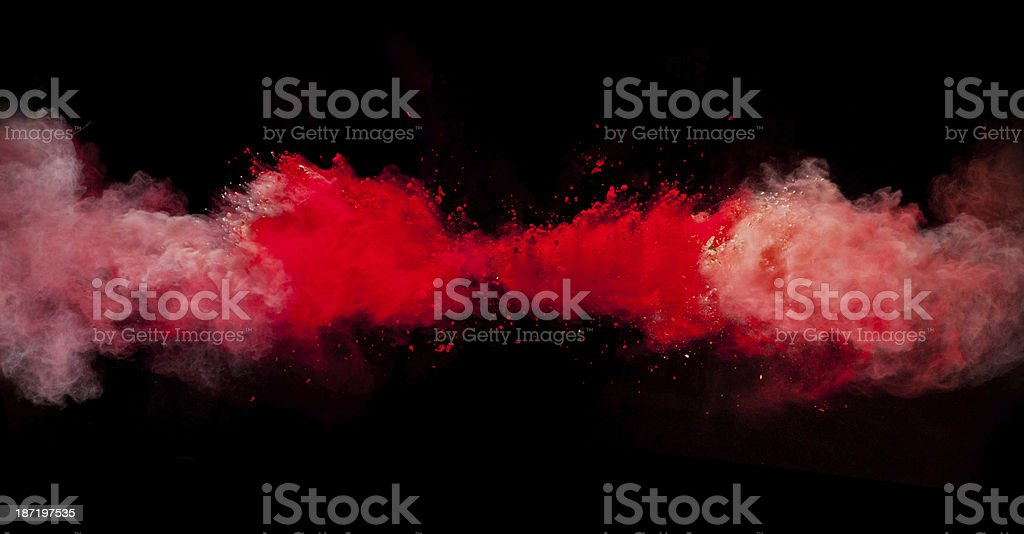 colored dust royalty-free stock photo