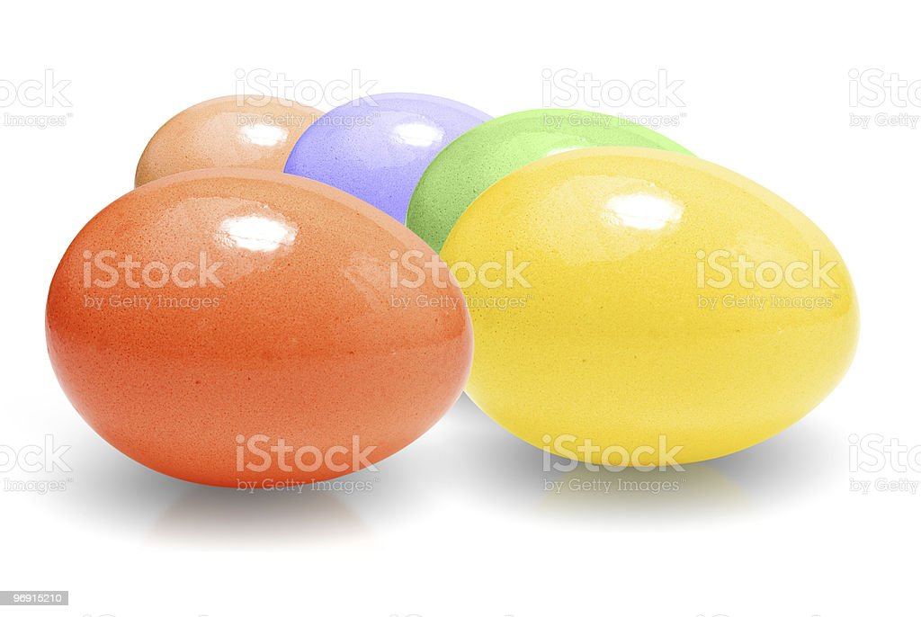 Colored easter egg. royalty-free stock photo