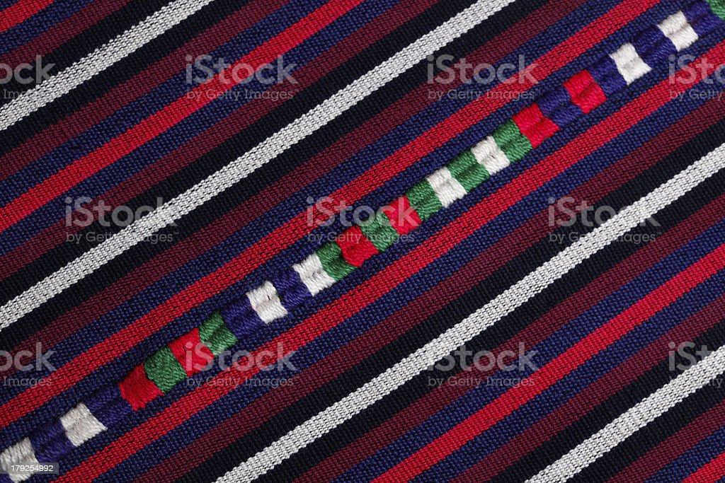 colored fabric royalty-free stock photo