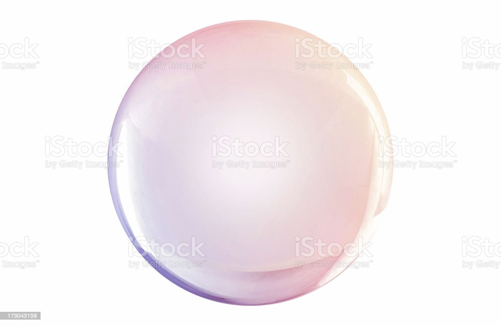 Colored Globe royalty-free stock photo