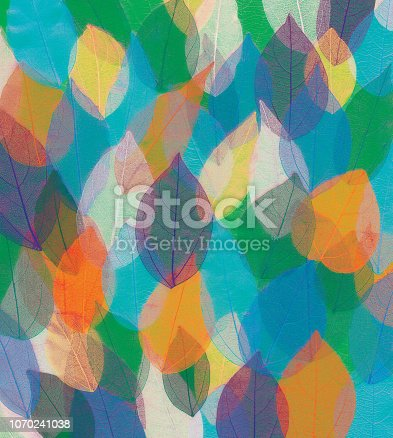 istock colored leaves 1070241038
